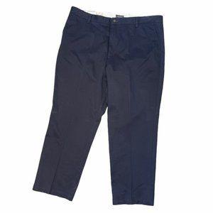 DOCKERS D3 Classic Fit Khaki Pants Navy 42x30 NWT